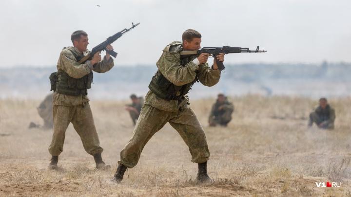 Кто кого: на полигоне в Волгоградской области военные будут «убивать» на скорость