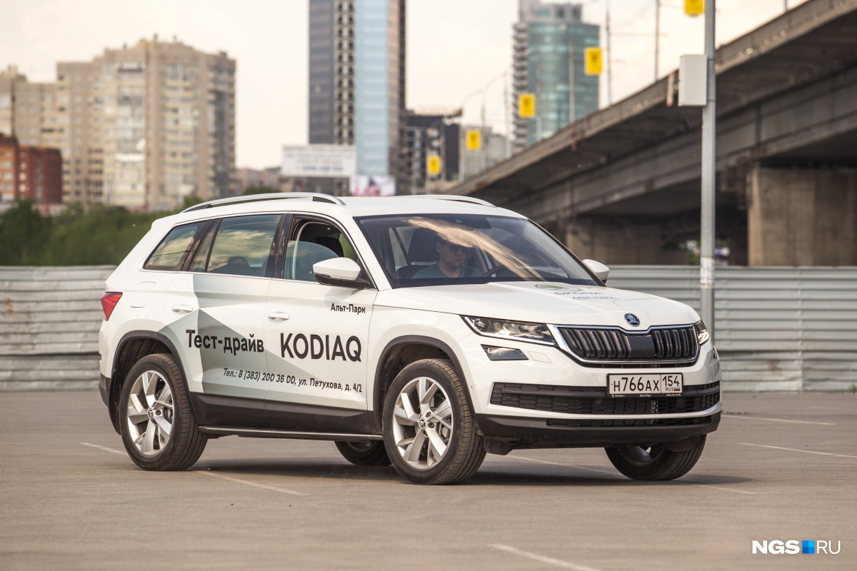 Skoda Kodiaq вошел в топ-10 лидеров продаж