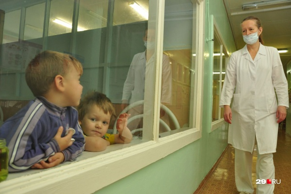 На прошлой неделе заболели около пяти тысяч архангелогородцев. Больше половины — это дети