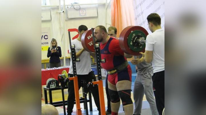 Архангельский пауэрлифтер Антон Солодов взял бронзу на Кубке России