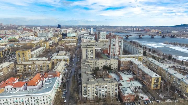 Необычное для апреля тепло идет в Красноярск