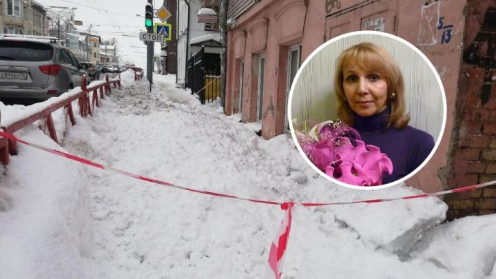 В Ярославле женщине глыбой льда проломило спину. Судят ответственного за уборку крыши