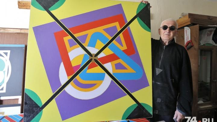 «Оцениваю в 5 млн долларов»: слепой уральский художник написал картину о расстреле царской семьи