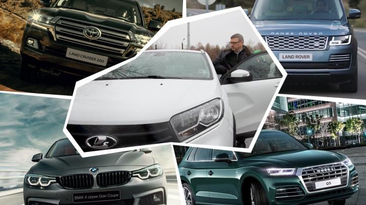 Lada vs Land Rover: на каких машинах на самом деле ездят Текслер, его замы и челябинские министры