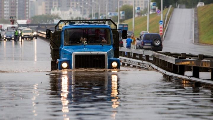 Стихийное бедствие в Уфе: выпало рекордное количество осадков