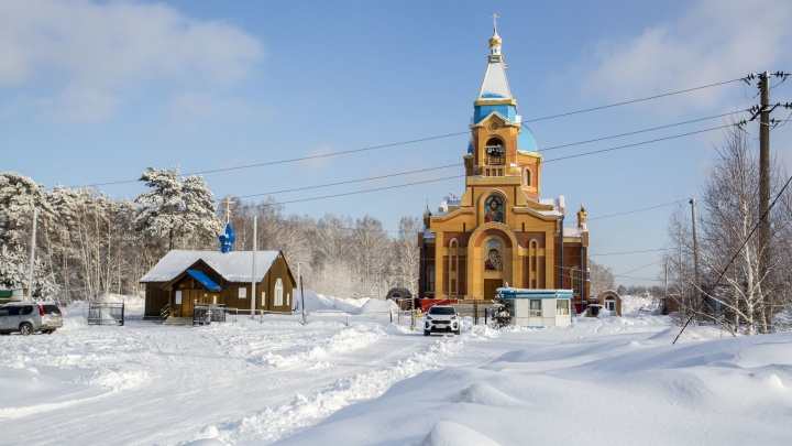 Его строили на пожертвования 20 лет: показываем изнутри новый новосибирский храм