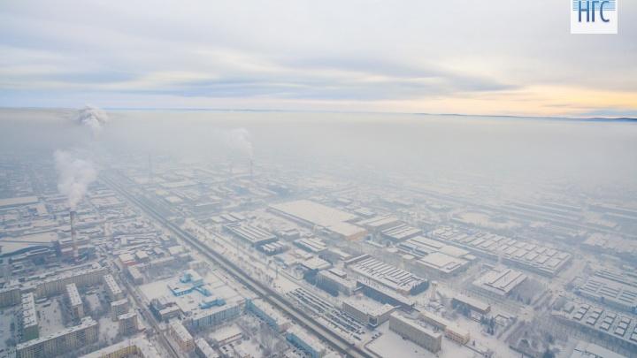 Красноярск вновь стал самым грязным городом мира сразу после введения режима «чёрного неба»