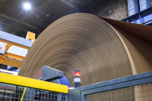 В планах комбината в 2020 годувыпустить около 600 тысяч тонн картона для плоских слоев гофрокартона и гофробумаги