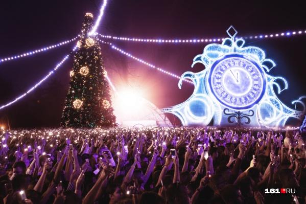 Новогодние гулянья в Ростове начнутся за две недели до праздника и продолжатся в январе