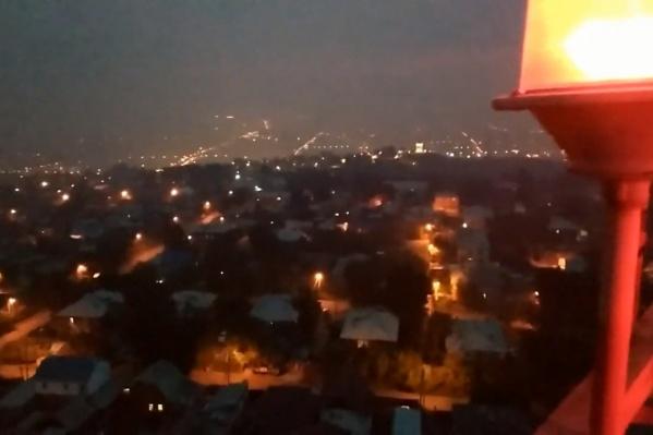 Подростки неделю готовились к вылазке, но впечатления испортил густой дым, окутавший Красноярск