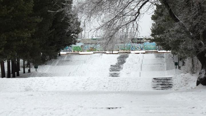Студенты СибАДИ предложили разместить в Советском парке сухой фонтан и мангальную зону
