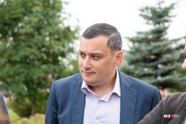 Александр Хинштейн во второй раз представляет Самарскую область в Госдуме