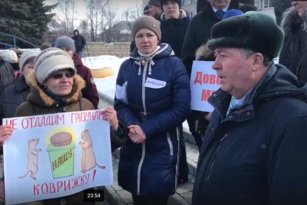 Александр Штыка пришёл поддержать нового мэра