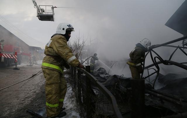 В Башкирии в пожаре заживо сгорела пенсионерка