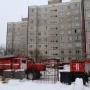В Кургане произошел пожар в девятиэтажке на улице Куйбышева