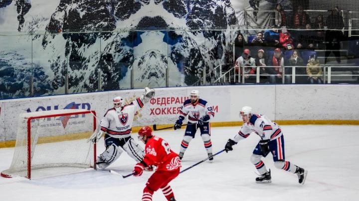 ХК «Ростов» проиграл «Чебоксарам» в последней игре года