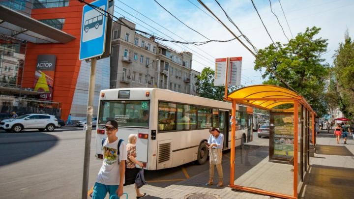 На двух автобусных маршрутах Ростова сменили перевозчика из-за жалоб пассажиров