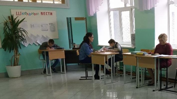 В кунгурской школе детей-инвалидов отправили учиться в коридор
