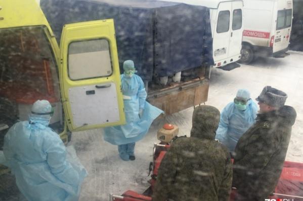 В карантинном центре в Тюмени оказались восемь челябинцев, эвакуированных из Китая военными самолётами