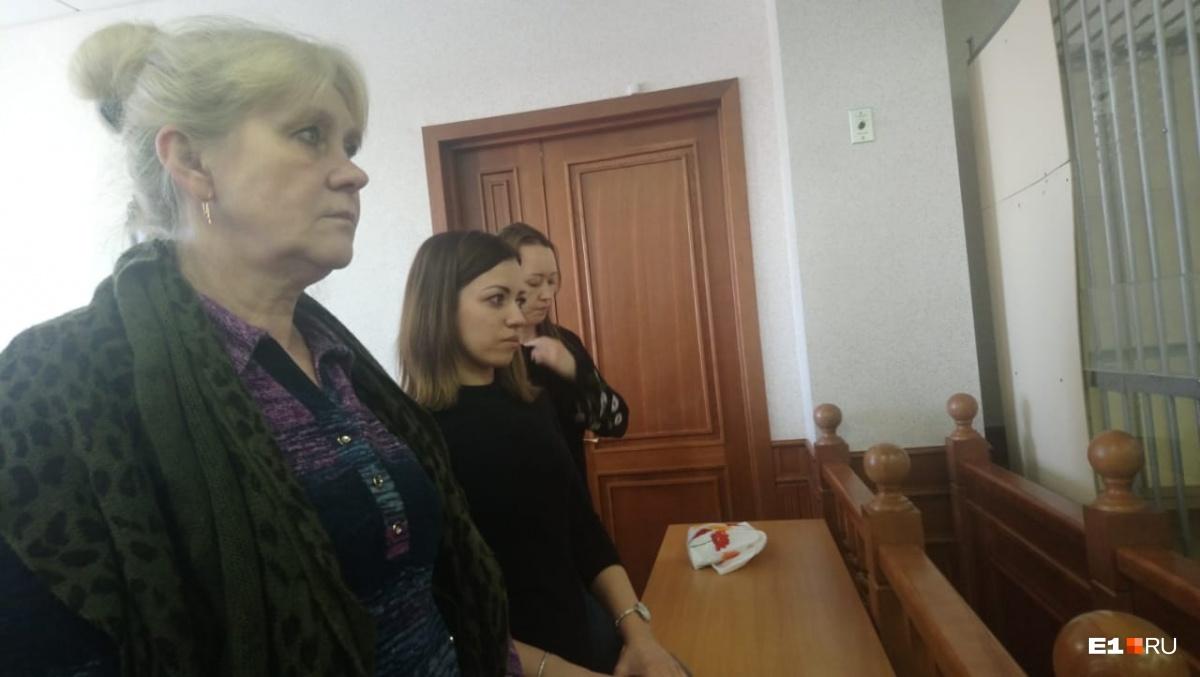 На фото мама (слева) и жена Алексея Сушко