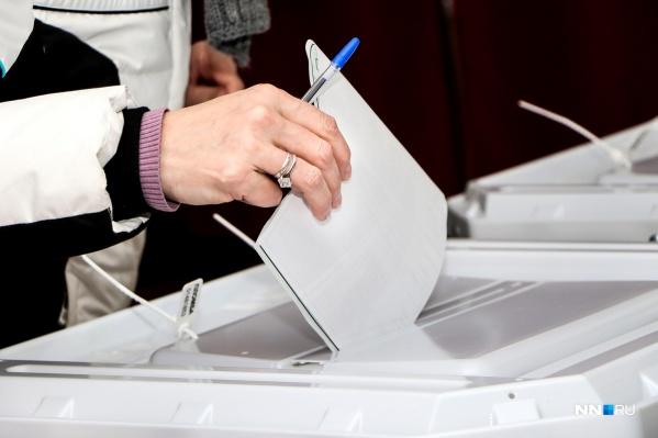 Нижегородцы могут отдать свой голос до 20:00