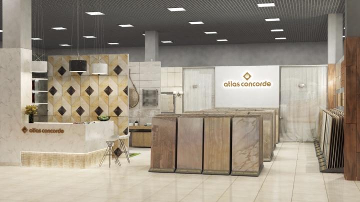 На Маркса в ТВК «Калейдоскоп комфорта и уюта» откроют магазин дизайнерской итальянской плитки
