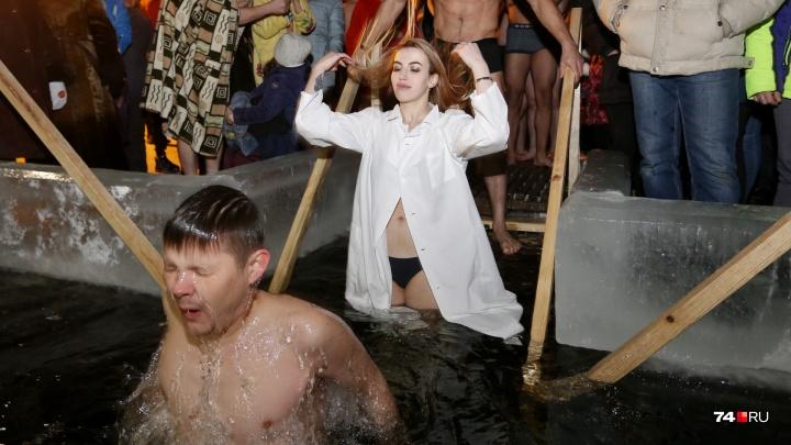 Взрыв эмоций: смотрим 30 лучших снимков с крещенских купаний в Челябинске