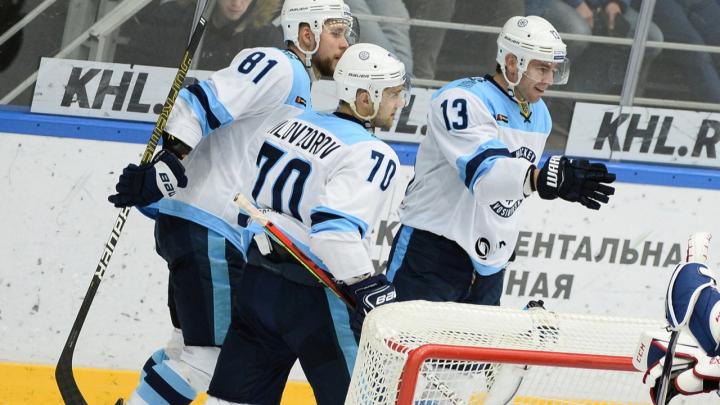 Вырвали победу в овертайме: ХК «Сибирь» на выезде обыграл «Барыс»