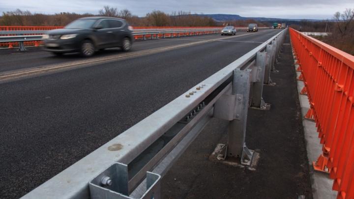 На федеральной трассе в Башкирии отремонтировали мост