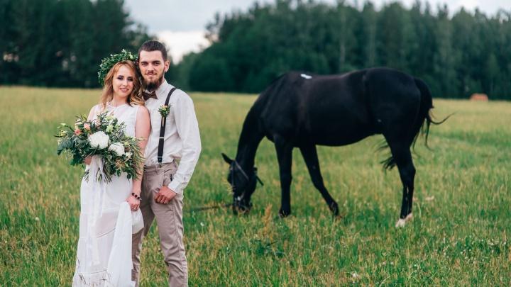 Фото с лошадьми и вид на закат: стало известно, где можно устроить отличную загородную свадьбу