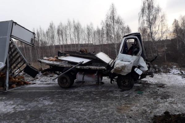 Авария произошла рано утром на трассе «Иртыш»