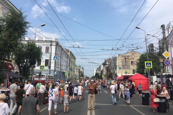 На время праздника улицу Куйбышева снова сделают пешеходной