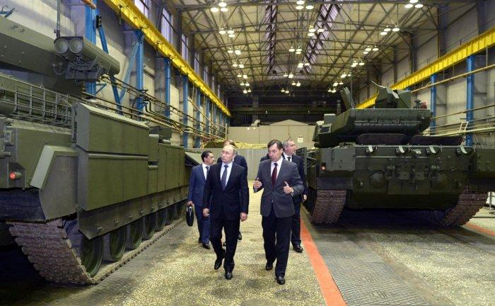 Вместо «Арматы», которую показывали Путину, УВЗ станет выпускать танк-робот