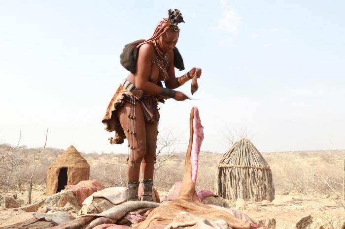 Племена химба в Африке живут так же, как и сотни лет назад