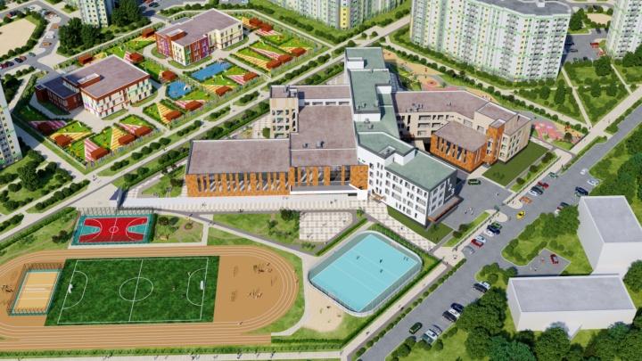 Мэрия Екатеринбурга показала, как будет выглядеть школа за миллиард рублей. Публикуем эскизы