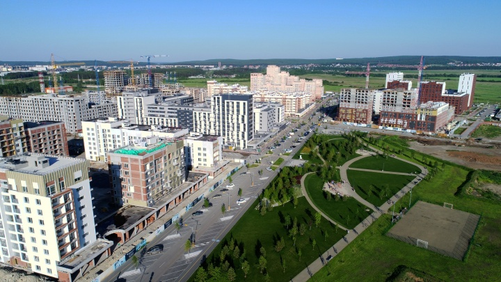 Никто и не заметил: как в Екатеринбурге за 5 лет построили город внутри города
