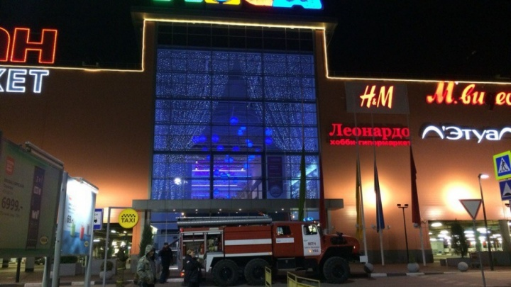 В Уфе эвакуируют торговый центр