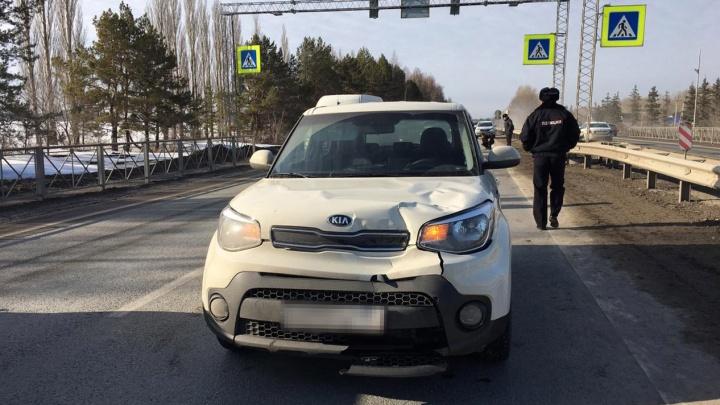 В Башкирии на пешеходном переходе насмерть сбили ребенка