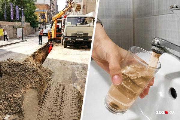 Жители Ростовской области болеют из-за грязной питьевой воды