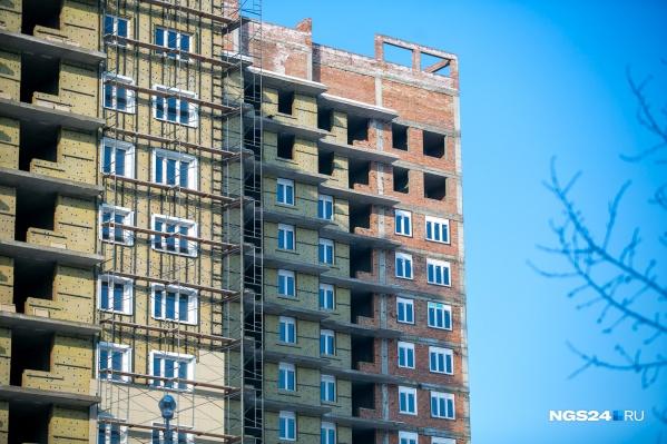Высота зданий не должна превышать 8 этажей