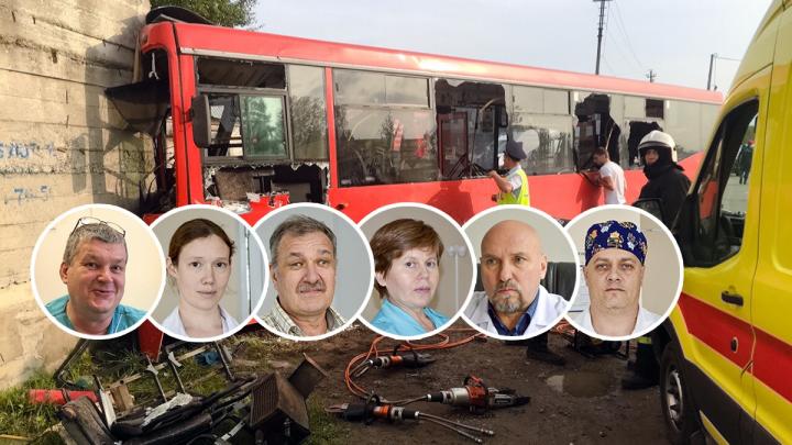 «Все пострадавшие в панике и кричат». Как пермские врачи спасали пострадавших в ДТП с автобусом