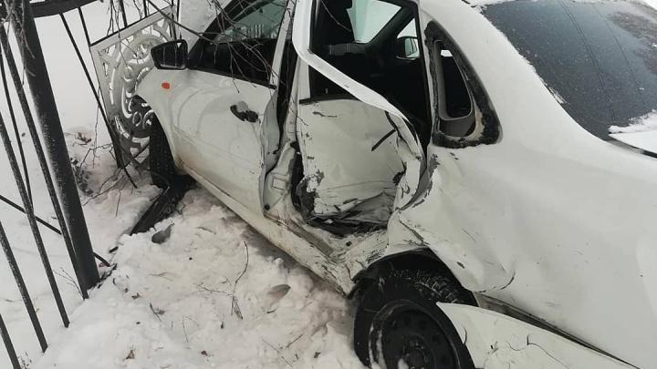 В последний день минувшего года в двух ДТП в Башкирии пострадали двое детей