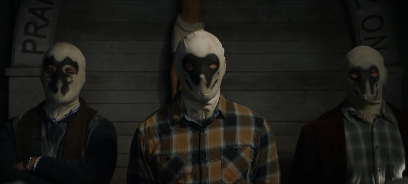 Хранителей нельзя победить, потому что первые полчаса ты будешь угадывать, что изображено на их масках