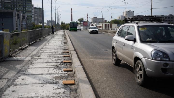 В мэрии Екатеринбурга рассказали, перекроют ли Малышевский мост снова
