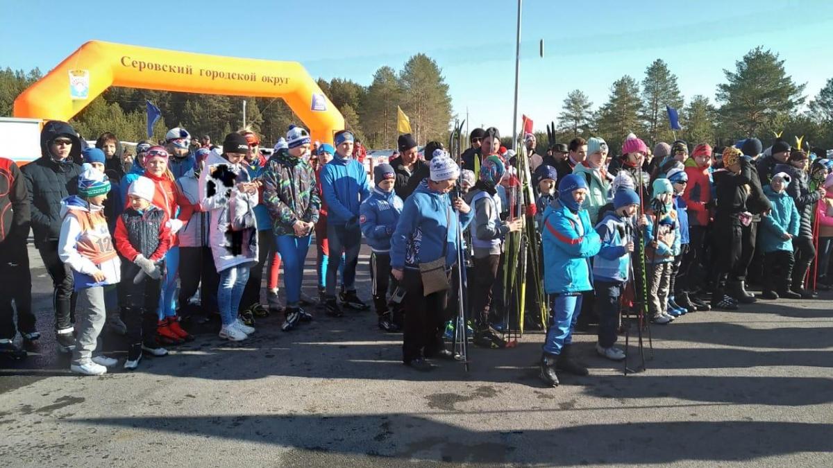 Утром Шипулин открыл в Серове лыжные соревнования