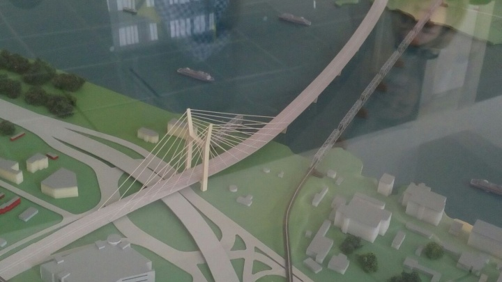 Золотые ванты: по новому мосту будут ездить 86 тысяч машин в сутки