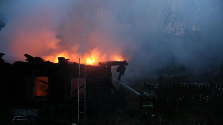В Башкирии на месте пожара нашли тело мужчины