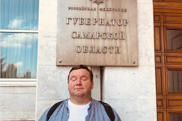 Дмитрий Колчин и сейчас активно занимается общественной деятельностью