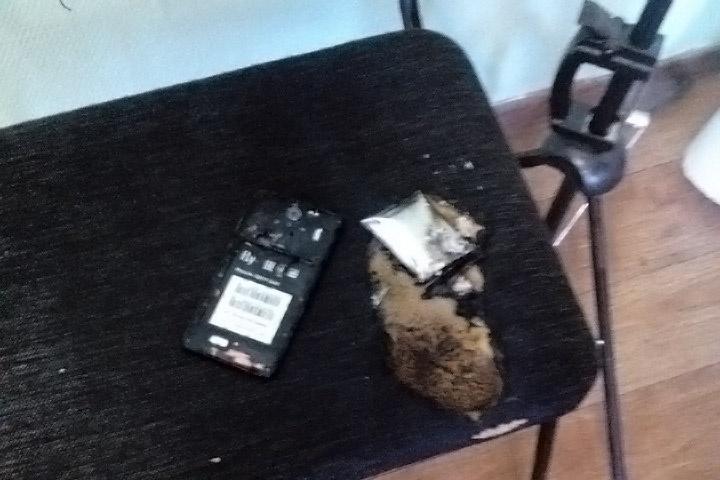 Учеников напугал резкий хлопок и дым