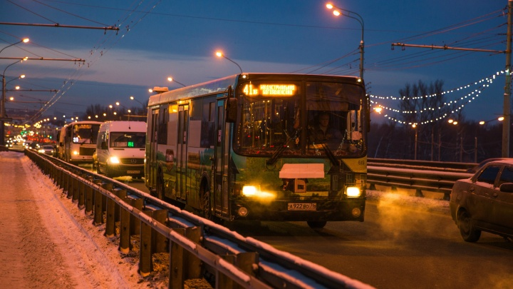 «Ездят не по расписанию»: в Ярославле сломались сервисы, отслеживающие работу транспорта